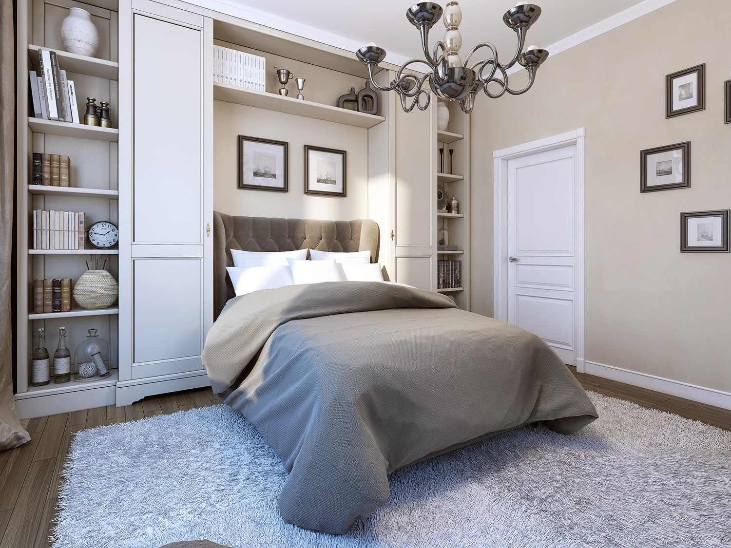 Picture of: Murphy Bed Wall Beds And Custom Storage For Guest Bedrooms