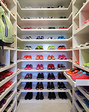 Closet City Shoe Storage Solutions