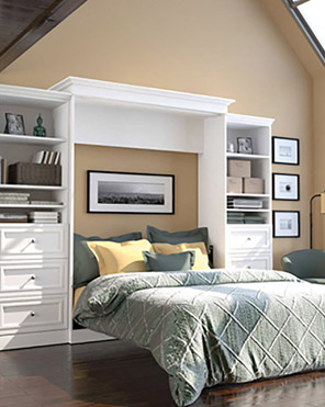 Closet City Guest Bedroom Storage Wall Beds